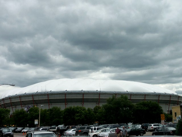 Hubert H Humphrey Metrodome: Home of the Minnesota Vikings